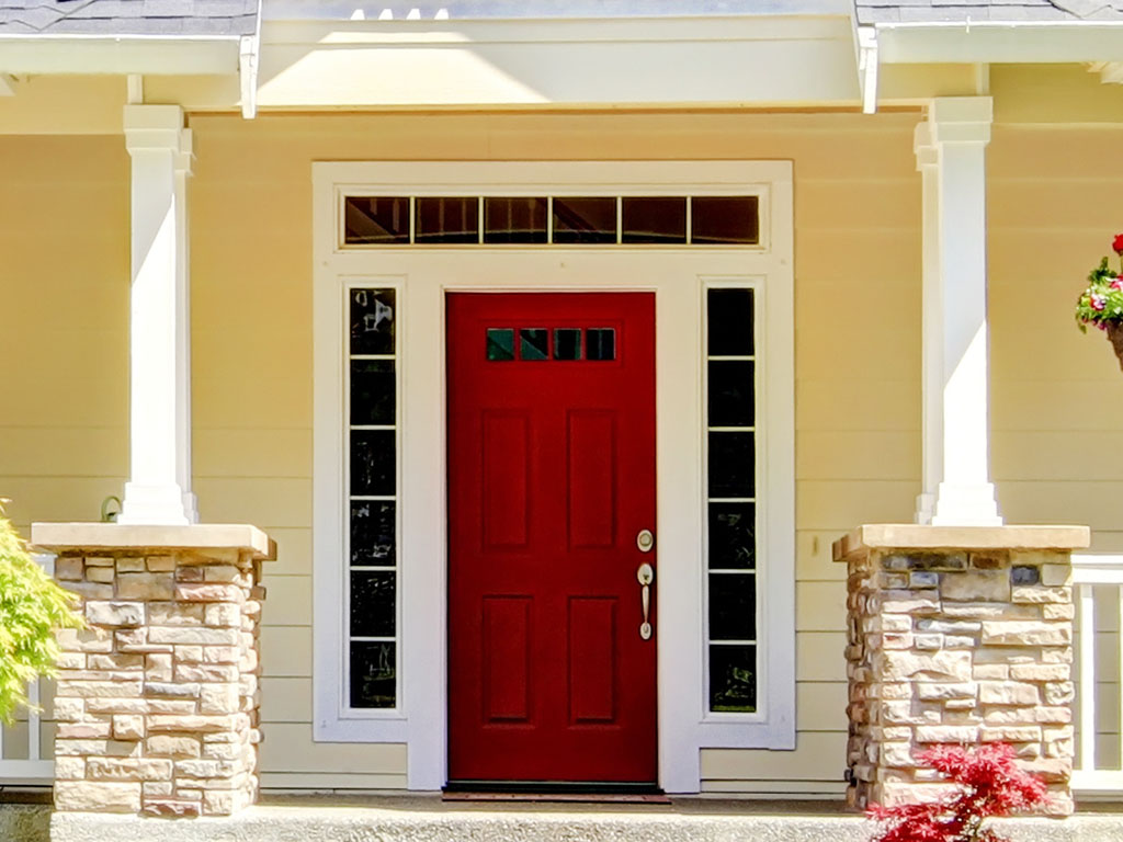 Painted Door, Curb Appeal, House Painters Near Me
